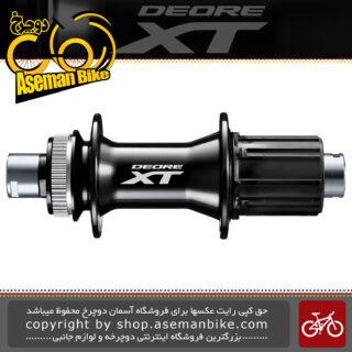 توپی عقب دوچرخه شیمانو مدل ایکس تی ام 8010 شافتی Shimano Deore XT FH-M8010 Rear FREEHUB for Disc Brake (12mm E-THRU Axle)