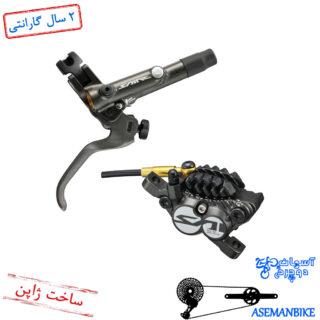 ترمز دیسک هیدرولیک شیمانو مدل سینت ام 820 چهار پیستون Shimano Hydraulic Disc Brake Saint M820