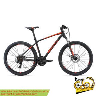دوچرخه کوهستان دو منظوره جاینت مدل ای تی ایکس ۲ مشکی/قرمز سایز ۲۷٫۵ Giant ATX 27.5 2 2018