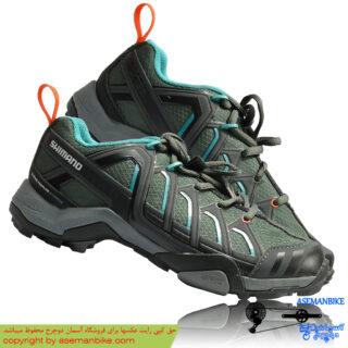 کفش دوچرخه کوهستان شیمانو زنانه مدل دبلیو ام 34 Shimano Lady Shoes WM34