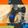 دوشاخ دوچرخه راک شاکس مدل ایکس سی 28 سایز 26 100 میلیمتر بازی Rockshox Bicycle Fork XC28100mm