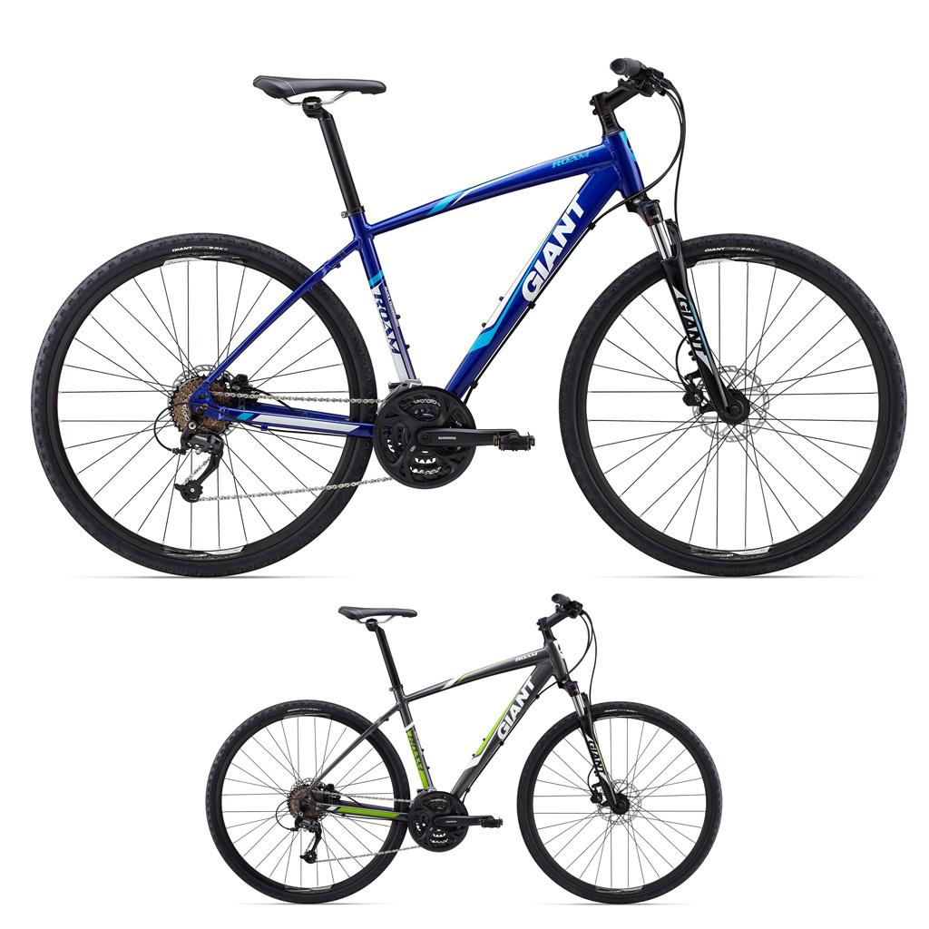 دوچرخه هایبرید شهری دو منظوره جاینت مدل روام 2 دیسک Giant Roam 2 Disk 2015