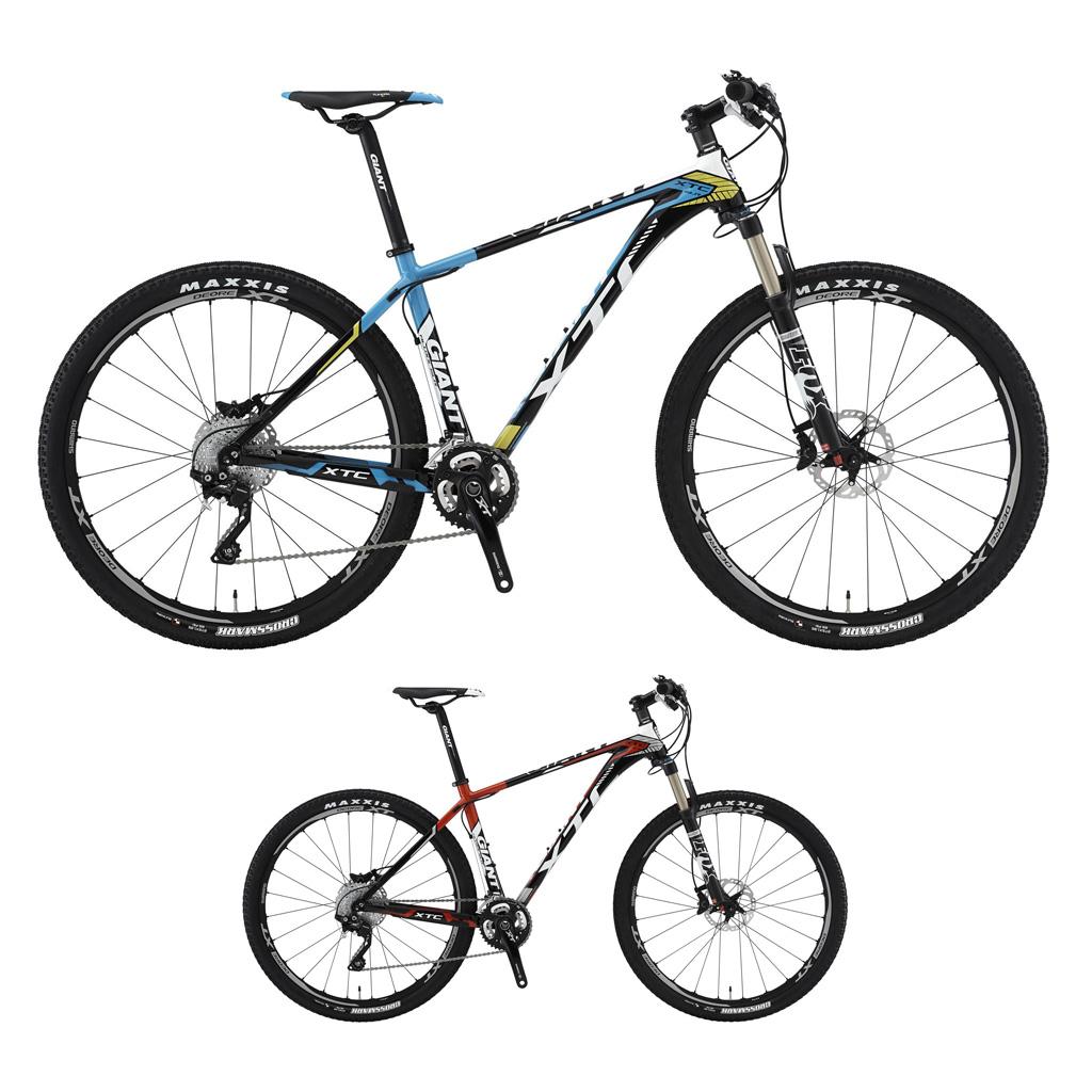 دوچرخه کراس کانتری ریس جاینت مدل ایکس تی سی اس ال آر 1 سایز 27.5 Giant XTC SLR 1 2015