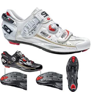 نمایندگی کفش دوچرخه کورسی جاده قفل شو لاک سی دی ایتالیا مدل ارگو 3 کربن ونایس SIDI Shoes Road Ergo 3 Carbon Vernice
