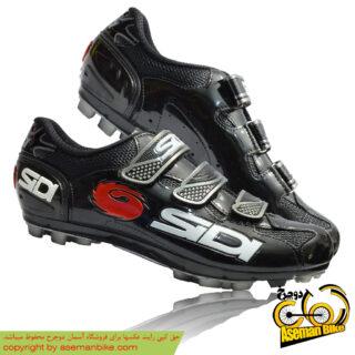 کفش دوچرخه کورسی جاده قفل شو لاک سی دی ایتالیا مدل لوگو مشکی SIDI Shoes Road LOGO