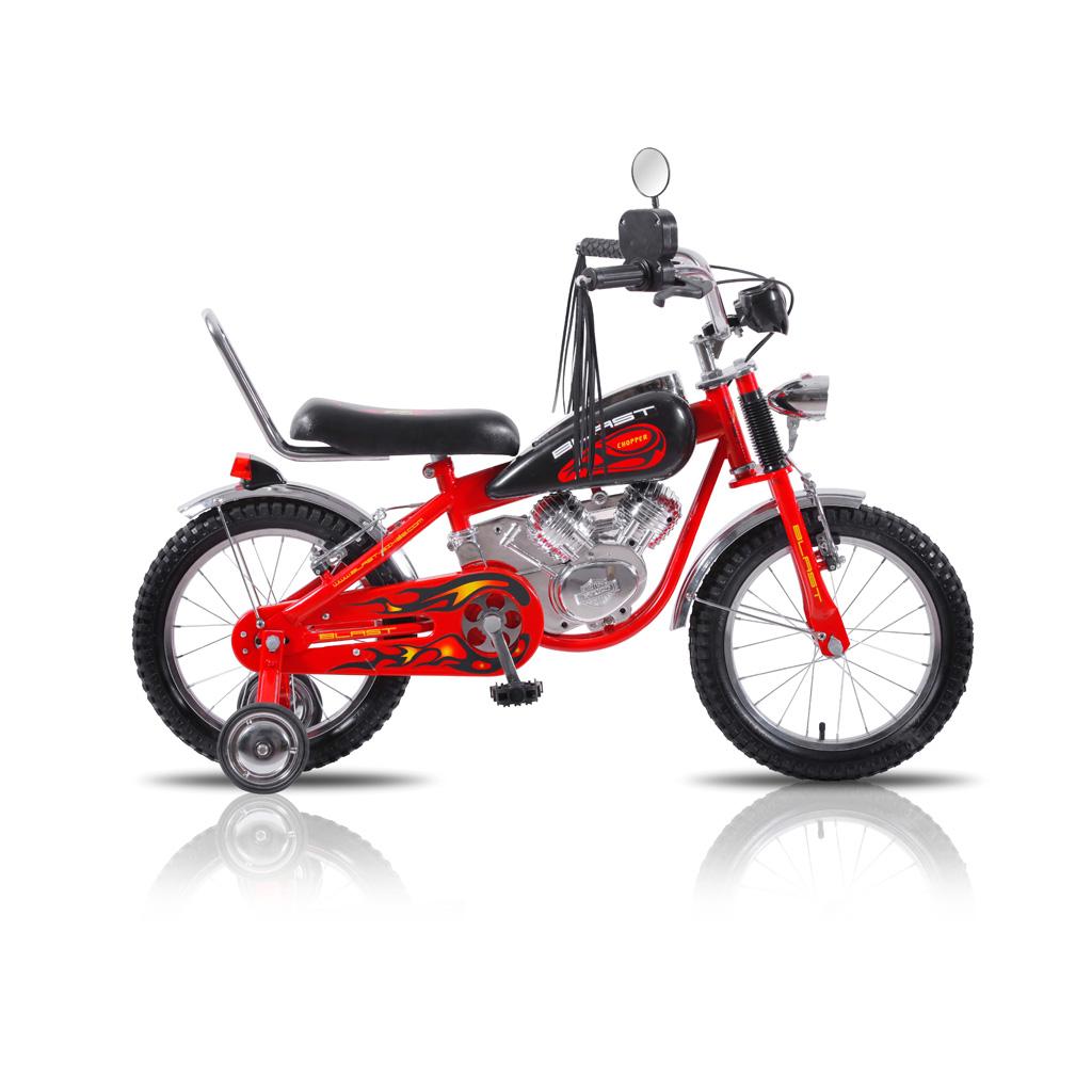 دوچرخه بچگانه کودک طرح موتور بلست مدل چوپر سایز 16 Blast Chopper