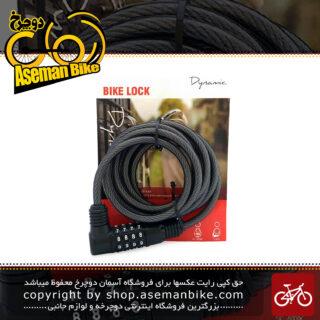 قفل دوچرخه کابلی رمزی داینامیک مدل سی ال 836 Dynamic Lock Cable for Bike CL-836