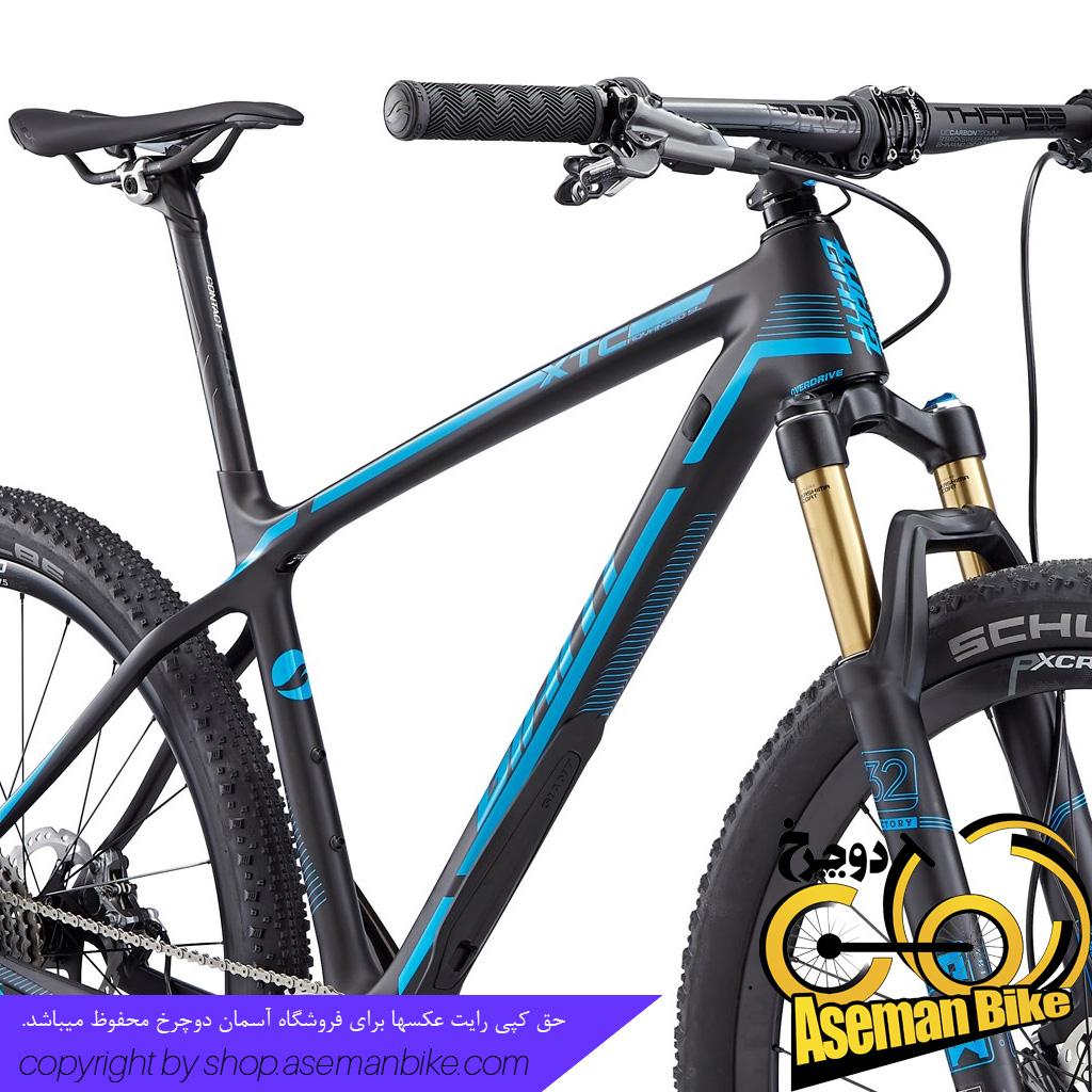 دوچرخه کوهستان کربن جاینت مدل ایکس تی سی ادونس اس ال 0 سایز 27.5 Giant XTC Advanced SL 0 2016