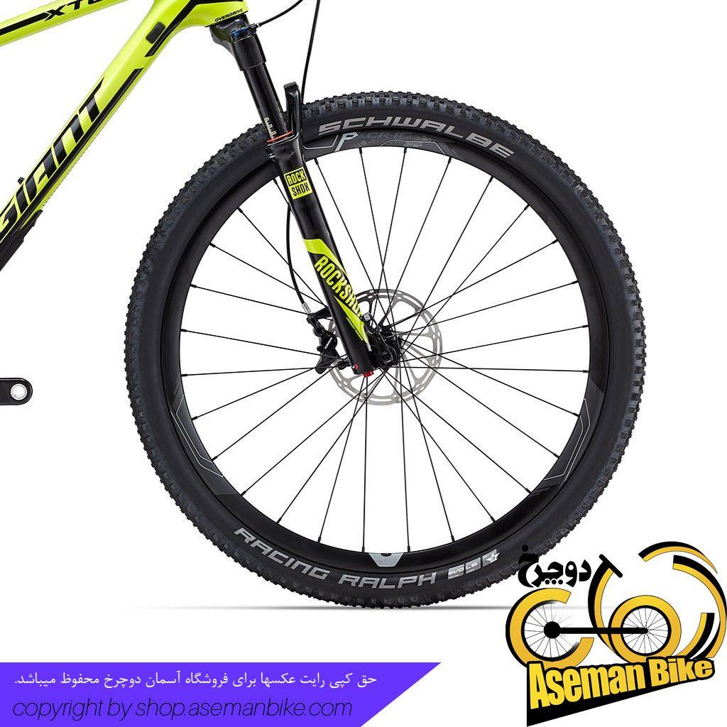 دوچرخه کوهستان کربن جاینت مدل ایکس تی سی ادونس اس ال 1 سایز 27.5 Giant XTC Advanced SL 1 2016