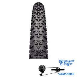 لاستیک تایر دوچرخه کنتیننتال مدل ریس کینگ تاشو سایز ۲۶×۲ Continental Tire Race King