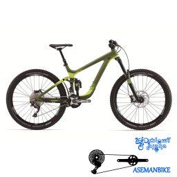 دوچرخه آلمانتین کربن جاینت مدل رین ادونس 1 سایز 2.75 Giant Reign Advanced 1 2015