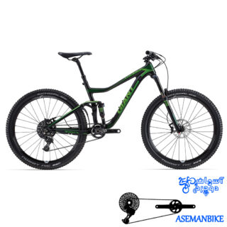 دوچرخه تریل کربن جاینت مدل ترنس ادونس 1 سایز 27.5 Giant Trance Advanced 1 2015