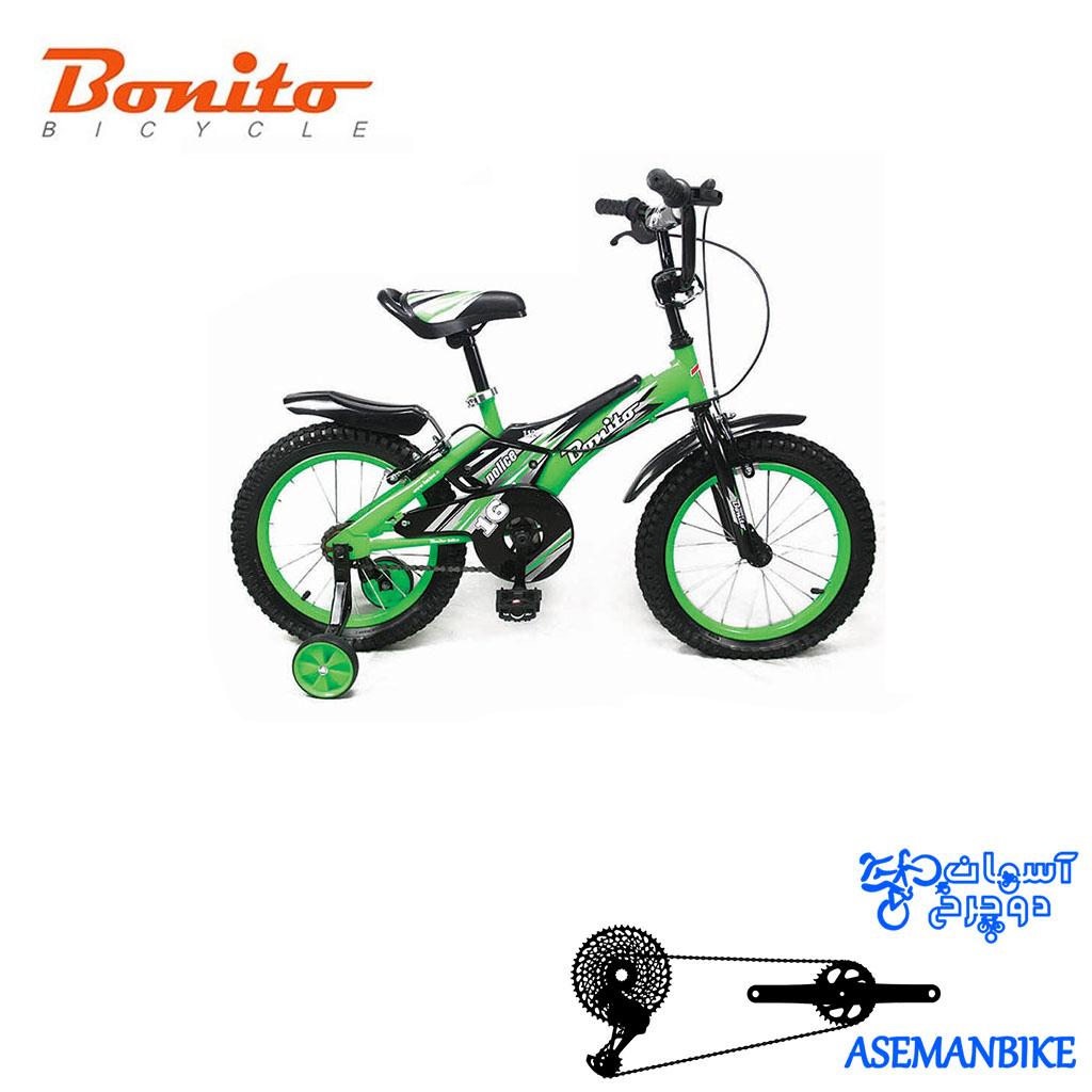 دوچرخه بچه گانه بونیتو BONITO-مدل 112-سایز 16