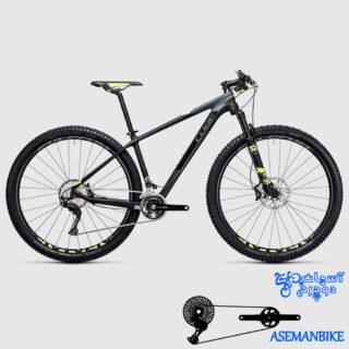 نمایندگی دوچرخه کیوب کربن مدل ری اکشین جی تی سی اس ال 2 ایکس 27.5 CUBE Off Road Reaction GTC SL 2x 2017