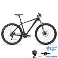 نمایندگی دوچرخه کوهستان کراس کربن کیوب مدل ری اکشین جی تی سی اس ال سایز ۲۷.۵ CUBE Reaction GTC SL 2015