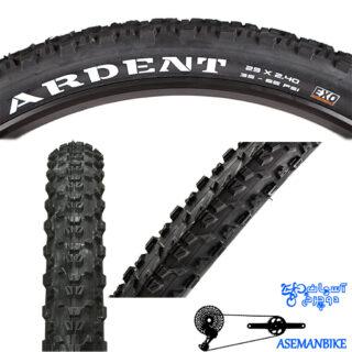 لاستیک تایر دوچرخه ماکسیس مدل آردنت اگزو سایز 29x2.4 Maxxis ARDENT EXO