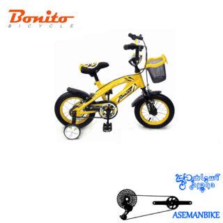 دوچرخه بچه گانه بونیتو BONITO-مدل 109-سایز 12