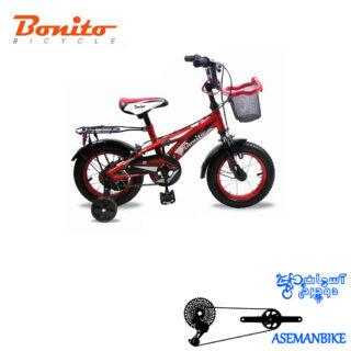 دوچرخه بچه گانه بونیتو BONITO-مدل 205-سایز 12