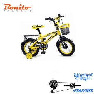 دوچرخه بچه گانه بونیتو BONITO-مدل 207-سایز 12