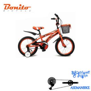 دوچرخه بچه گانه بونیتو BONITO-مدل 101-سایز 16
