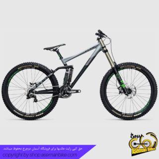 دوچرخه دانهیل کیوب مدل تو15 اچ پی ای ریس سایز 27.5 2017 سبز مشکی Cube Downhill Bike TWO15 HPA Race 27.5 2017