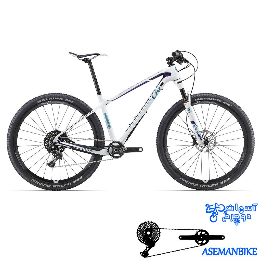 دوچرخه کوهستان لیو کراس کانتری مسابقات کربن زنانه بانوان جاینت لیو مدل ابسس ادونس سایز 27.5 Giant LIV Obsess Advanced 1 2016