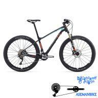 دوچرخه کوهستان لیو کراس کانتری مسابقات کربن زنانه بانوان جاینت لیو مدل ابسس ادونس 2 سایز ۲۷٫۵ Giant LIV Obsess Advanced 2 2016