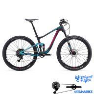 دوچرخه کوهستان لیو فول ساسپینشن مسابقات کربن زنانه بانوان جاینت لیو مدل لاست ادونس 1 سایز ۲۷٫۵ Giant LIV lust Advanced 1 2016