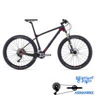دوچرخه کوهستان کراس کانتری مسابقات کربن جاینت مدل ایکس تی سی ادونس 2 سایز ۲۷٫۵ Giant XtC Advanced 2 2016