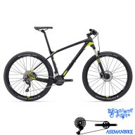 دوچرخه کوهستان کراس کانتری مسابقات کربن جاینت مدل ایکس تی سی ادونس 3 سایز ۲۷٫۵ Giant XtC Advanced 3 2016