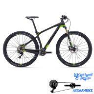 دوچرخه کوهستان کراس کانتری مسابقات کربن جاینت مدل ایکس تی ادونس 1 سایز 29 Giant XtC Advanced 29er 1 2016