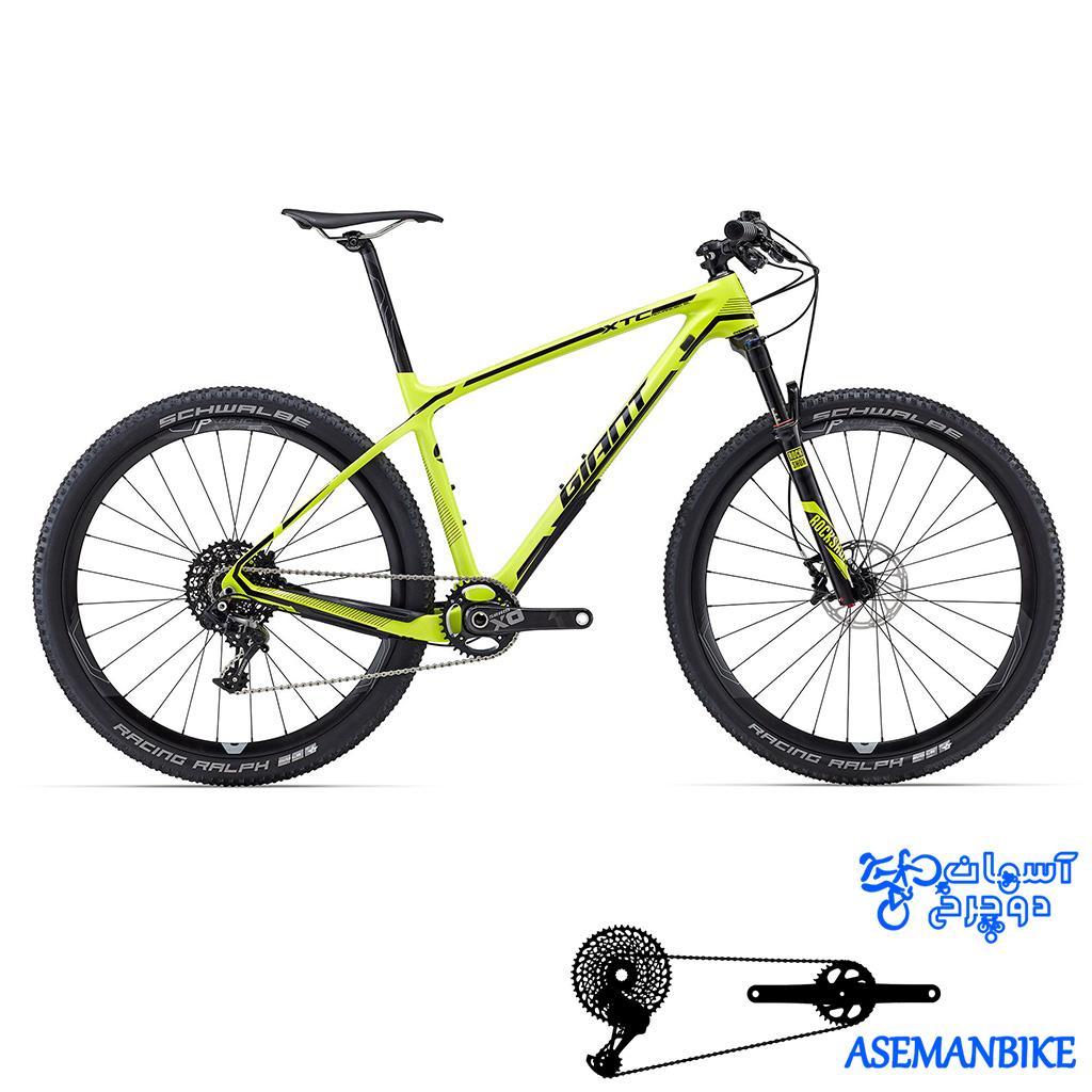 دوچرخه کوهستان کراس کانتری مسابقات کربن جاینت مدل ایکس تی ادونس اس ال 1 سایز 27.5 Giant XtC Advanced SL 1 2016