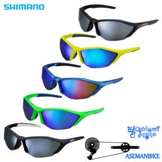 عینک دوچرخه شیمانو مدل اس 61 آر-پی ال پلاریزه Shimano Glasses S61R-PL
