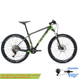 دوچرخه کوهستان جاینت مدل ایکس تی سی اس ال آر 2 سبز سایز 27.5 2018 Giant Mountain Bicycle XTC SLR 2 27.5 2018