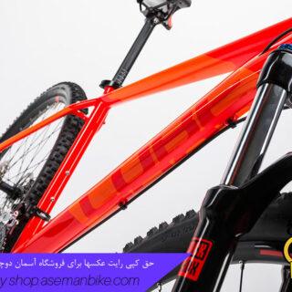 دوچرخه کوهستان کراس کانتری کیوب مدل اتنشن سایز ۲۷.۵ 2017 نارنجی/قرمز Cube Mountain Bicycle Attention 27.5 2017