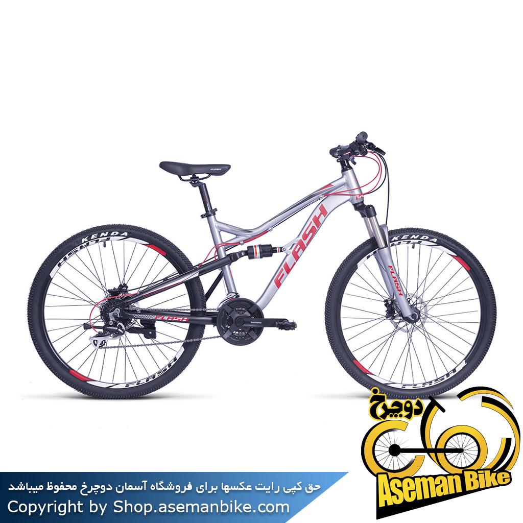 دوچرخه کوهستان فول ساسپنشن فلش مدل هاردراک2 سایز 27.5 Flash Hard Rock2