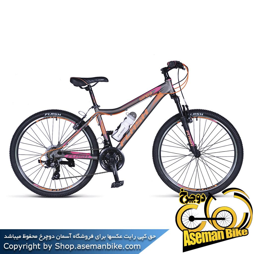 دوچرخه کوهستان و شهری فلش مدل ویند3 سایز 26 Flash Wind3