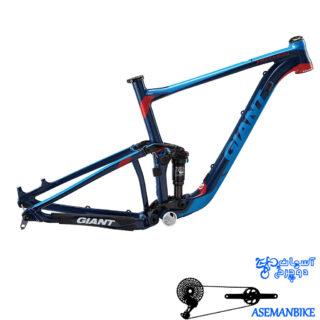 تنه بدنه دوچرخه فول ساسپینشن کراس کانتری جاینت مدل انتم سایز 27.5 Giant Anthem Framset 2015