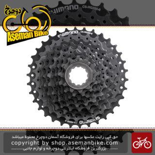 خودرو دوچرخه شیمانو مدل اسرا اچ جی 200 نه سرعته کوهستان Shimano Acera HG200 9 Speed MTB Cassette