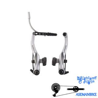 ترمز ویبریک دوچرخه شیمانو مدل آسرا ام 422 Shimano Acera V-Brake BR M422
