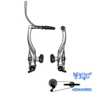 ترمزبندی ویبریک دوچرخه شیمانو مدل تی 4000 Shimano Alivio V-b BR T4000