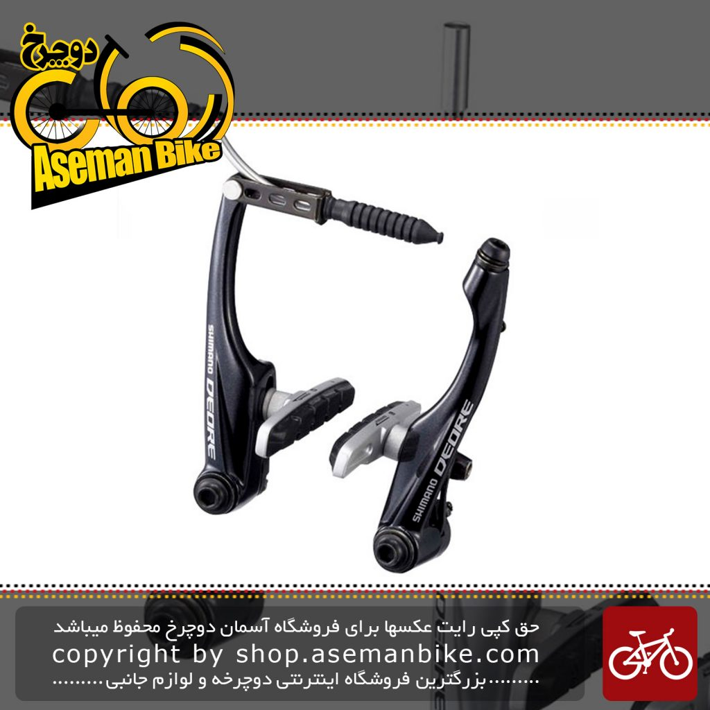 ترمز ویبریک دوچرخه شیمانو مدل دیور 590 Shimano Deore V-Brake BR M590