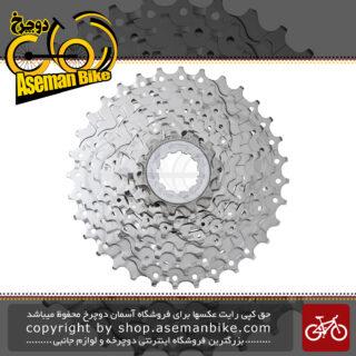 خودرو دوچرخه شیمانو سی اس - اچ جی 50 نه سرعته کوهستان Shimano HG50 9 Speed MTB Cassette 11-34T