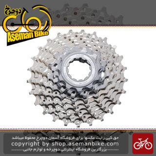 خودرو دوچرخه شیمانو اچ جی 50 نه سرعته Shimano HG50 9 Speed Road Cassette