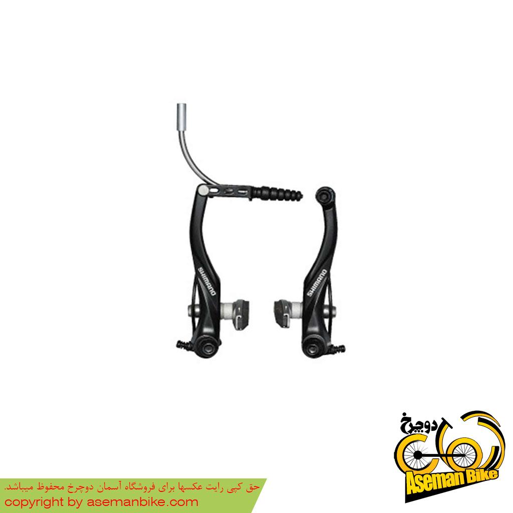 ترمز ویبریک دوچرخه شیمانو مدل الیویو تی 4010 Shimano Alivio V-Brake T4010