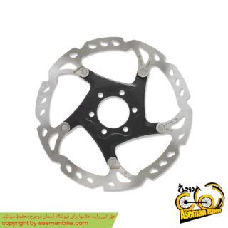 روتور صفحه دیسک ترمز دوچرخه شیمانو مدل اس ام آرتی 76 ایکس تی 6 پیچ سایز 160 Shimano Disc Rotor XT 6 Bolt SM-RT76 160mm