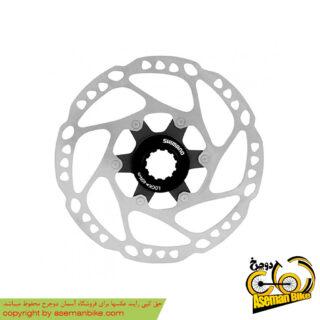 روتور صفحه دیسک ترمز دوچرخه شیمانو مدل اس ام آرتی64 دیور سنتر لاک سایز 180 Shimano Disc Rotor Deore Centerlock SM-RT64 180mm
