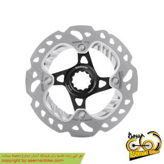 روتور صفحه دیسک ترمز دوچرخه شیمانو مدل اس ام آرتی 99 ایکس تی آر آیس تک سنتر لاک سایز 140 Shimano Disc Rotor XTR Ice-Tech Center Lock SM-RT99 140