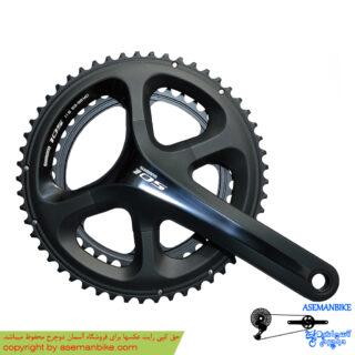 طبق قامه دوچرخه کورسی جاده شیمانو 105 اف سی 5700 Shimano FC 5700 105 53X39T