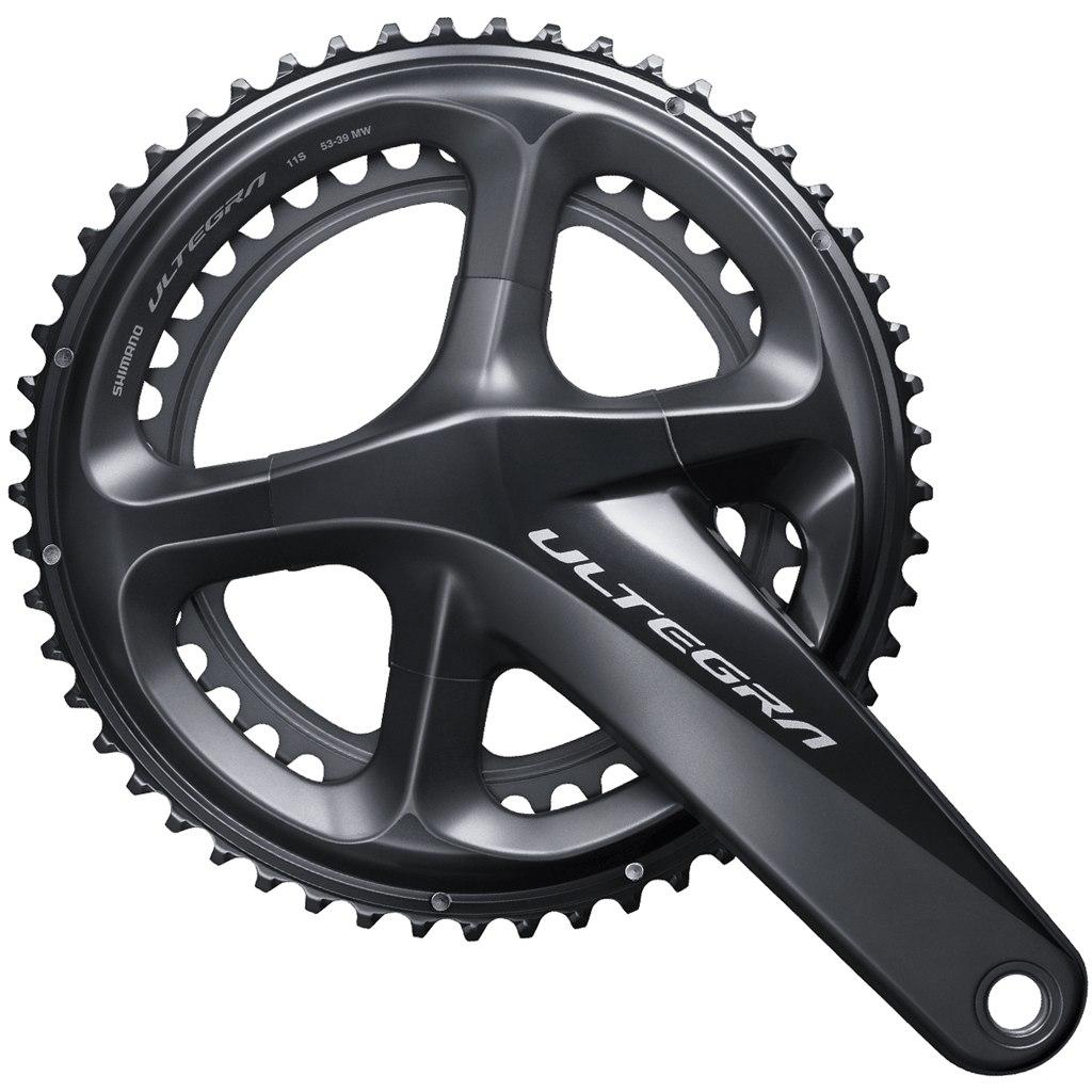 طبق قامه دوچرخه کورسی جاده شیمانو التگرا 8000 Shimano FC R8000ULTEGRA 53X39T